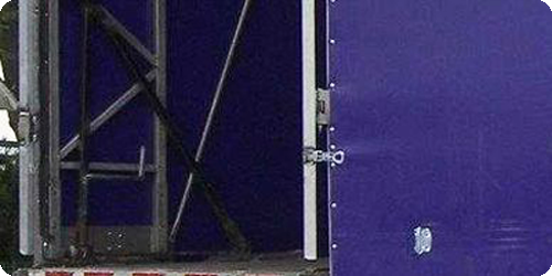 Rear locking system.