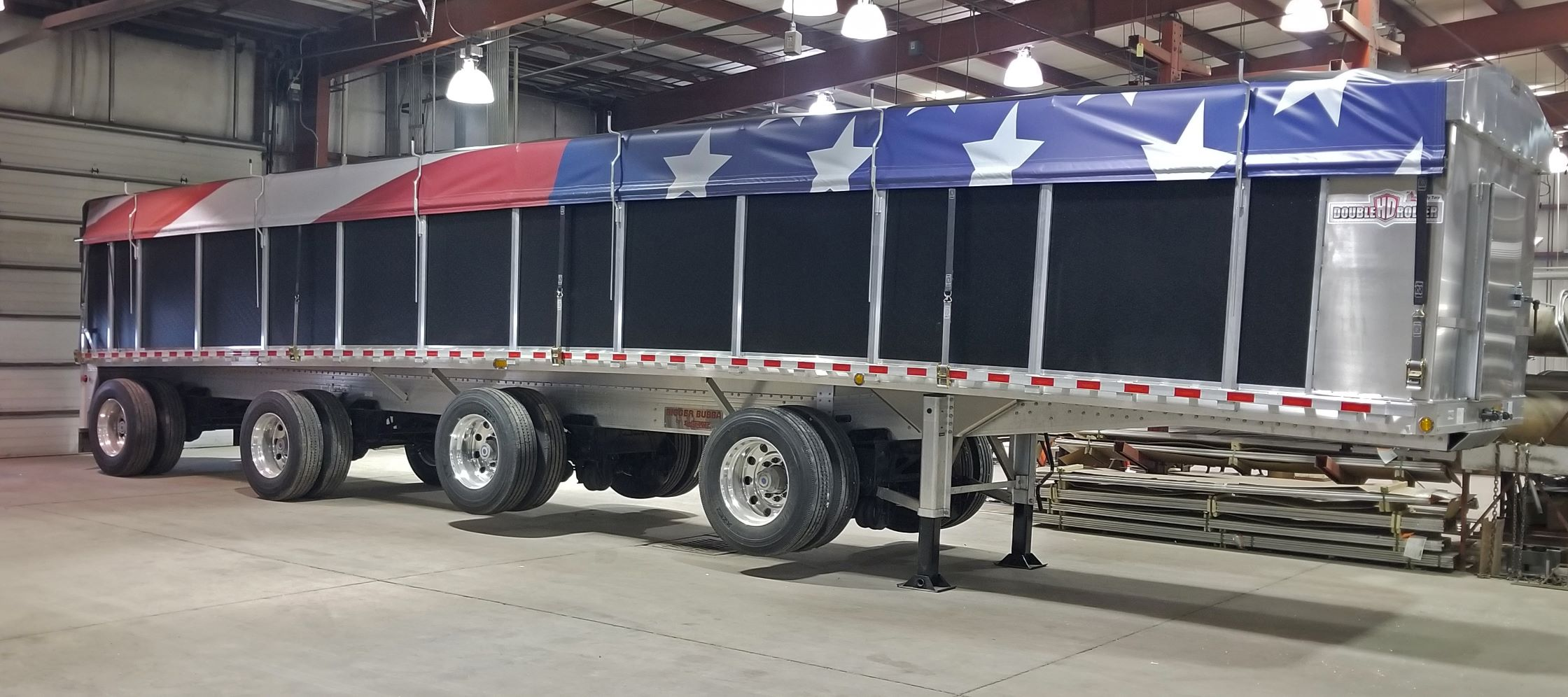 American flag tarp roadrunner